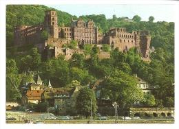 Cp, Allemagne, Heidelberg Am Neckar, Le Château - Heidelberg