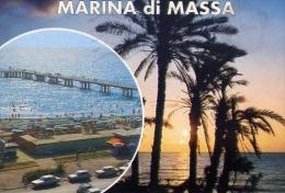 Marina Di Massa - Il Pontile E Il Lungomare - Formato Grande Viaggiata - Massa