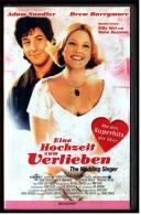 VHS Video Komödie , Eine Hochzeit Zum Verlieben -  Mit Adam Sandler, Drew Barrymore, Christine Taylor  -  Von 1999 - Romantique