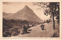 38. LE MASSIF DE LA GRANDE CHARTREUSE. La Route Du Col De La Charmette - Chartreuse