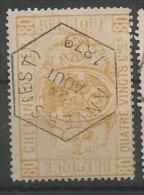 CF 5  Obl  Anvers (Est)  80 - Afgestempeld