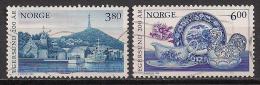 Norwegen  (1998)  Mi.Nr.  1278 + 1279  Gest. / Used  (ca47) - Gebraucht
