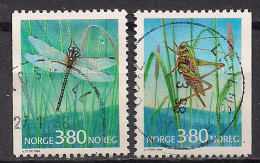 Norwegen  (1998)  Mi.Nr.  1275 + 1276  Gest. / Used  (ca52) - Gebraucht