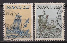 Norwegen  (1983)  Mi.Nr.  891 + 892  Gest. / Used  (ca49) - Norwegen