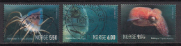 Norwegen  (2004)  Mi.Nr.  1490 - 1492  Gest. / Used  (ca53) - Norwegen