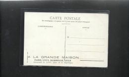 """LYON-PLACE  BELLECOUR+PUB--""""A LA GRANDE MAISON--PLACE DE LA REPUBLIQUE A LYON""""-- - Lyon"""