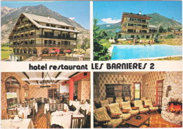 05. Gf. GUILLESTRE. Hôtel-Restaurant Les Barnières 2. 4 Vues (2) - Guillestre