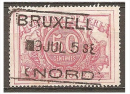 FEB-2208   BRUXELLES    //   NORD      Ocb TR  11 - Usati