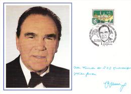 Austria Special Cachet: 1986 Graz Famous People - Max Schmeling (L1-1) - Boxing
