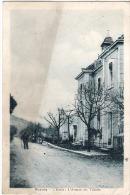 Z 1403   CP   POYOLS L'ECOLE L'AVENUE DES TILLEULS - France