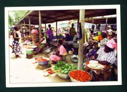 TOGO - Kara (Vegetable Market) Used Postcard Sent To The UK As Scans - Togo
