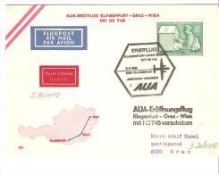 Sobre De Austria De Matasello Aviones - 1945-.... 2nd Republic