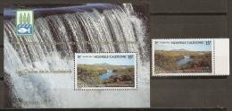 MEDIO AMBIENTE - NUEVA CALEDONIA 1992 - Yvert #630+H13 - MNH ** - Protección Del Medio Ambiente Y Del Clima