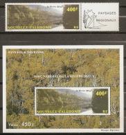 TURISMO - NUEVA CALEDONIA 1992 - Yvert #A280A+H12 - MNH ** - Vacaciones & Turismo
