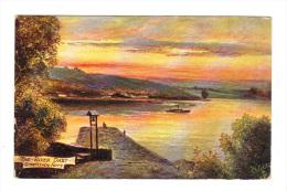 Royaume Uni: Devon, The River Dart, Greenaway Ferry, Oilette (13-2892) - Other