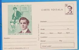 Opera, Operetta N. Leonard Hoffmann  Offenbach, Music Romania Postal Stationery 1964 - Musik