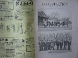 L'ILLUSTRATION 2735 CHINE / AVIGNON/ FABRICATION TIMBRES POSTE/ MADAGASCAR  27 Juillet 1895 - Journaux - Quotidiens