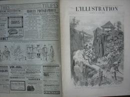 L'ILLUSTRATION 2736 MANŒUVRES NAVALES/ ACCIDENT DU BOUVINES/ ACCIDENT RAIL SAINT BRIEUC/   3 Aout 1895 - Journaux - Quotidiens