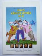 DOSSIER DE PRESSE mes chers amis N�2 6 1982 - Ugo Tognazzi