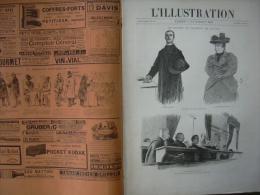 L'ILLUSTRATION 2750 TANANARIVE/ NOUVEAU MINISTERE/ PAPIER TIMBRE/ AIGOUAL/   9 Novembre 1895 - Journaux - Quotidiens