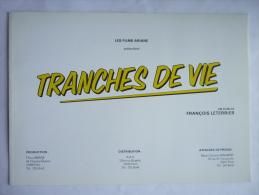 DOSSIER DE PRESSE - TRANCHES DE VIE - LAUZIER - Boujenah - Clavier - Mondy - Pr�vost - Giraud - Richard - Galabru - An�m