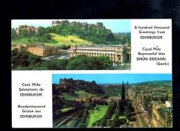 H2353 Edinburg Castle E Princes Street - Citation Gaelic ( Citizen ) - Not Used - Midlothian/ Edinburgh