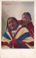 Eagle Feather + Papoose 1: Sioux 1904 - Indiens De L'Amerique Du Nord