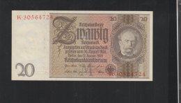 Dt. Reich 20 Mark 1929 - [ 4] 1933-1945: Derde Rijk