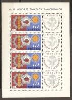 POLONIA 1967 - Yvert #1624 (minipliego) - MNH ** - 1944-.... República
