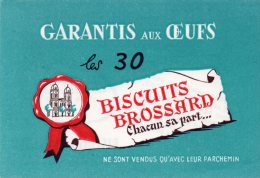 - BUVARD Biscuits BROSSARD à SAINT-JEAN D'ANGELY - 712 - Caramelle & Dolci