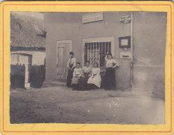 BEYNAT (19) : Les Préposées Du Bureau De Poste En 1907 - Très Rare Photo Albuminée 9x11,5 - Fotos