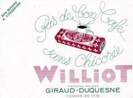 - BUVARD Chicorée WILLIOT - 714 - Koffie En Thee