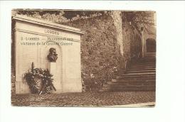Lobbes Monument Aux Victimes De La Grande Guerre  ( Pliure Légère  Coin Supérieur Gauche ) - Lobbes