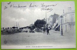 Cpa ROYAN 17 Entrée Des Quais Et Boulevard Lessore - Royan
