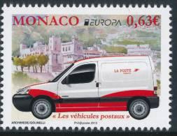 "MONACO EUROPA 2013 ""The Postman Van"" Set Of 1v** - 2013"