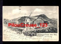SUISSE - BELCHENGASTHAUS Année 1905 - 1424 Mètres D'altitude - 2 Scan - Switzerland