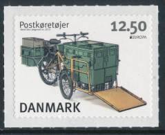 "DENMARK/Dänemark, EUROPA 2013 ""Postal Vehicles"" Adhesive 1v** - 2013"