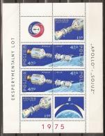 ESPACIO - POLONIA 1975 - Yvert #H68 (Minipliego) - MNH ** - Espacio