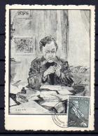 1955 Ecrivain Et Poête E. Verhaeren Par James Ensor,  CM 967 - Maximum Cards