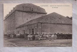 CPA - Saint-Mihiel (55) - Intérieur Des Casernes Du 12e Chasseurs - Le Pansage - Saint Mihiel