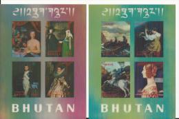 Bhoutan:252/ 255 + BF 30/ 31 ** +( PA 62/ 63 Et 65- Non Compté)** - Bhoutan