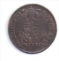 VATICAN - QUATTRINO- Pius Septimus  - XDCCCXVI - Vaticano (Ciudad Del)