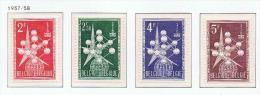 België 1957 Atomium 1008-1010 Xx - Belgique
