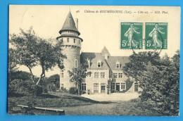 CP, 46, Château De ROUMEGOUSL - Côté Est, Voyagé En 1911 - Francia