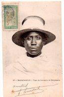 CPA 1908 MADAGASCAR TYPE DE BOURJANE DE MAHATSARA - Madagascar