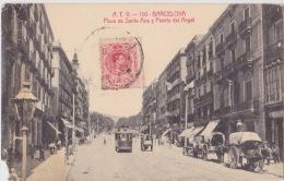 BARCELONA PLAZA DE SANTA ANA DANS L´ETAT - Barcelona