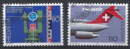 QQ-/-050.- N° 1124/25,  Obl. , COTE 2.70 €, Je Liquide - Svizzera