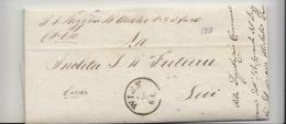 "DC672-OeSTRERREICH-MILITAeR Faltbrief WIEN-LODI (Italien) Aus I.R.REGIMENT ""AIROLSI""-23° INFANTERIE - ...-1850 Prefilatelia"