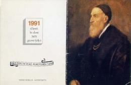 Calendarietto - Casa Redenzione Sociale - Niguarda - 1991 - Calendari