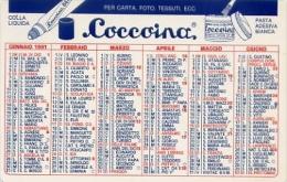 Calendarietto - Colla In Stick Lakol - Coccoiana Pasta Adesia Banca - 1991 - Formato Piccolo : 1991-00